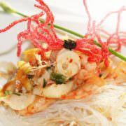 Gang 5 - Asiatischer Meeresfrüchtesalat, Glasnudeln